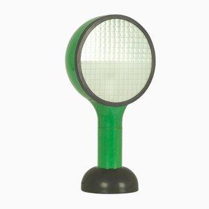 Lámpara de mesa italiana de plástico verde y negro de Adam Thiani & Alberto Dal Lago para Francesconi, 1974