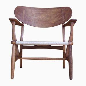 Modell CH22 Stuhl aus Eiche von Hans J. Wegner für Carl Hansen & Søn, 1950er