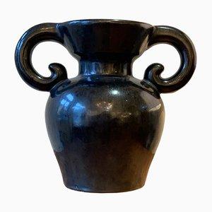 French Ceramic Vase, 1950s