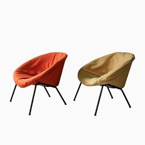 Club chair nr. 369 di Walter Knoll per Walter Knoll/Wilhelm Knoll, anni '50, set di 2