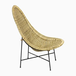Modell Kraal Beistellstuhl von Kerstin Hörlin Holmqvist für Nordiska Kompaniet, 1950er