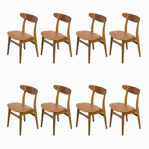Model CH30 Side Chairs by Hans J. Wegner for Carl Hansen & Søn, 1960s, Set of 8