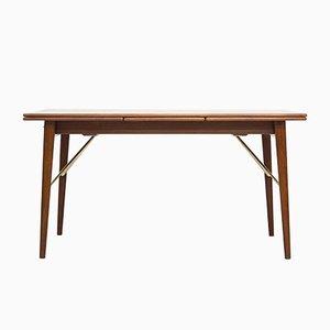 Esstisch von Peter Hvidt & Orla Mølgaard Nielsen für Søborg furniture, 1950er