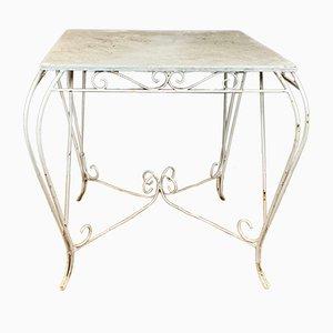 Französischer Vintage Gartentisch