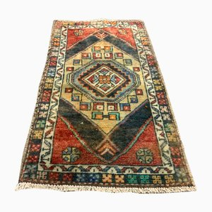 Small Vintage Turkish Runner Rug, 1960s