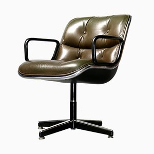 German Swivel Chair by Charles Pollock for Knoll Inc./Knoll International, 1980s