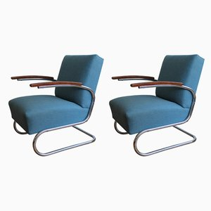 Armchairs by Walter Schneider and Paul Hahn for Hynek Gottwald, 1930s, Set of 2