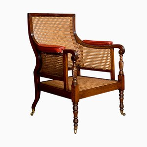 Antique Regency Style Mahogany Armchair