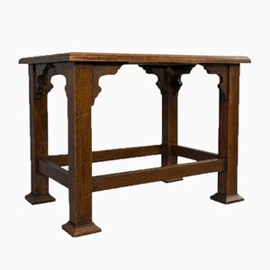 Antique English Oak Luggage Rack from Wadham and Sons
