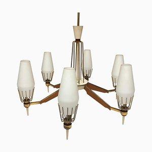 Moderne italienische Mid-Century Deckenlampe, 1960er