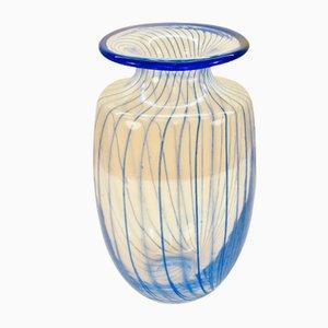 Vaso in vetro di Kjell Engman per Kosta Boda, anni '80