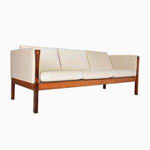 Dänisches Mid-Century Sofa mit Gestell aus Palisander von Hans J. Wegner, 1960er