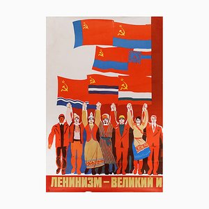Russian Leninism Poster, 1979