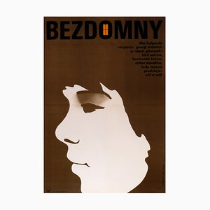 Polish Homeless Film Poster, 1974