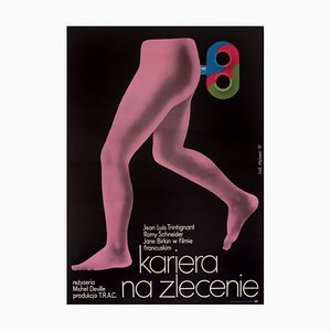 Affiche de Film Love at the Top, Pologne, 1974
