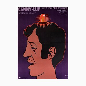 Poster del film The Burglars, Polonia, 1971