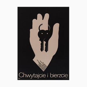 Affiche de Film Grab and Take, Pologne, 1979