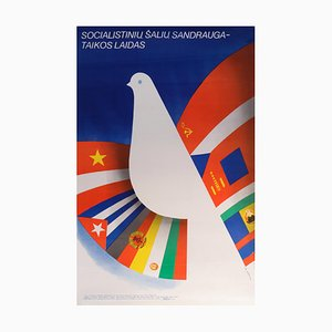 Affiche de Film Friendship of the Socialist Countries, 1980s