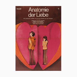 Affiche de Théâtre Anatomy of Love, 1974