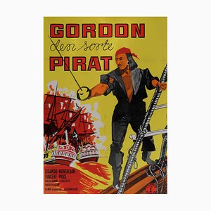 The Black Pirate Film Poster, 1963
