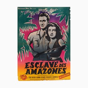Affiche de Film Love Slaves of the Amazon, 1959