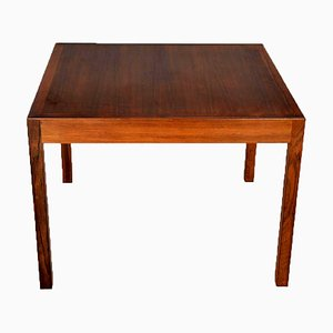 Mid-Century Danish Rosewood Coffee Table by Hans J. Wegner for Andreas Tuck