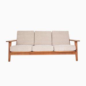 Dänisches Mid-Century Sofa von Hans J. Wegner für Getama, 1950er