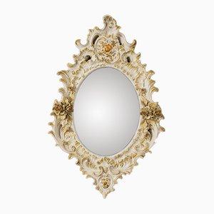 Specchio in porcellana, anni '30