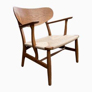 Fauteuil Modèle CH22 par Hans J. Wegner pour Carl Hansen & Søn, 1960s