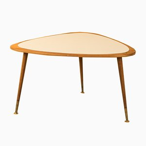 Table Basse en Noyer, 1950s