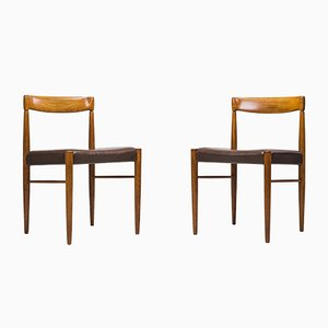 Danish Teak Dining Chairs by H. W. Klein for Bramin, 1960s, Set of 2