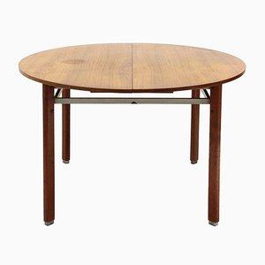 Italian Wood Dining Table, 1950s