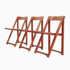 Chaises Pliantes par Aldo Jacober pour Habitat, 1960s, Set de 3