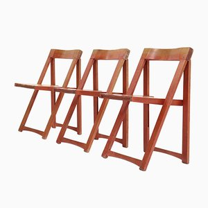 Folding Chairs by Aldo Jacober for Habitat, 1960s, Set of 3