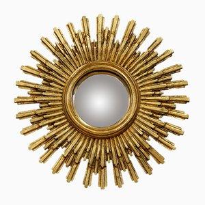 Vintage French Sunburst Mirror, 1950s
