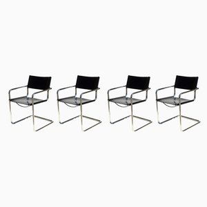 Model MG5 Dining Chairs by Marcel Breuer for Matteo Grassi, 1960s, Set of 4