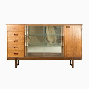 Glazed Teak Bookcase from Turnidge of London, 1960s