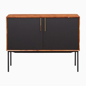 Black HPL and Yew Sideboard by Johannes Hock for Atelier Johannes Hock