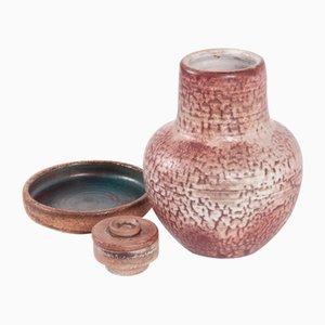 Vases Modernistes par Bauke Mobach pour Mobach, 1950s, Set de 3