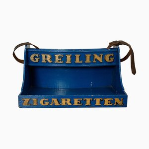 Vendor's Tray for Cigarettes from Greiling Zigaretten, 1920s