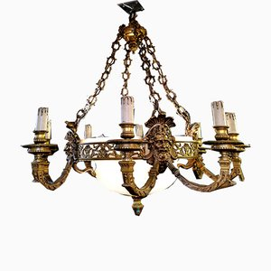 Antique Neoclassical Chandelier