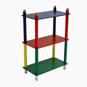 Vintage French Multicolored Shelf by Pierra Sala