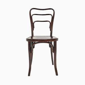 Antique Art Nouveau Bentwood No. 249 Lounge Chair from J. & J. Kohn, 1910s