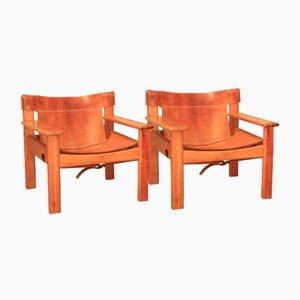 Sillones Natura de Karin Mobring para Ikea, años 70. Juego de 2