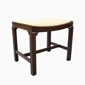 Antique Georgian Mahogany Stool, 1780s