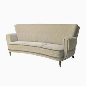 Dänisches Art Déco 3-Sitzer Sofa, 1930er