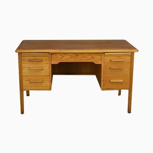 Mid-Century Oak Desk from Abbess, 1960s