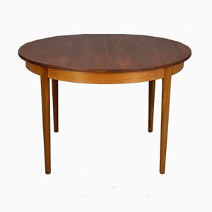 Mid-Century Round Dining Table, 1960s