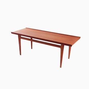Table Basse en Teck par Finn Juhl pour France & Søn / France & Daverkosen, Danemark, 1960s