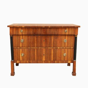 Antique Italian Empire Walnut Chest